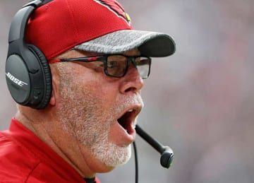 Cardinals coach Bruce Arians hospitalized