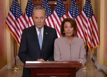 Democrats' response to Trump' border wall speech earns higher TV ratings