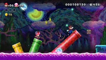 「New スーパーマリオブラザーズ U デラックス」(C)2012-2018 Nintendo