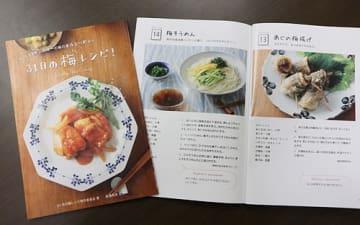 【和歌山県みなべ町が新たに発行した梅料理のレシピ本「まいにち元気 31日の梅レシピ!」】