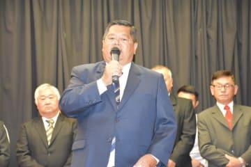 新しく就任した萩尾会長