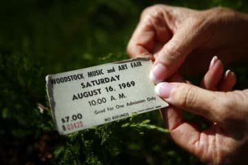 1月9日、米東部ニューヨーク州で1969年に開かれた伝説的な音楽イベント「ウッドストック・フェスティバル」の50周年を記念する野外コンサートが8月16-18日に開催されることが決定した。写真は2009年8月14日撮影 - (2019年 ロイター/Eric Thayer)