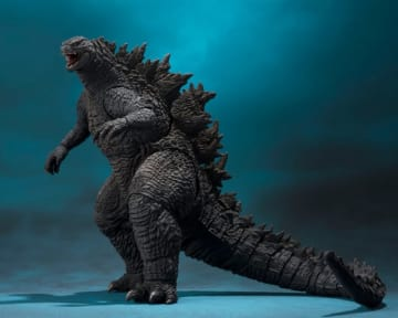 「S.H.MonsterArts ゴジラ(2019)」7,020円(税込)(C)2019 Legendary. All Rights Reserved. TM & (C) TOHO CO., LTD.MONSTERVERSE TM & (C) Legendary