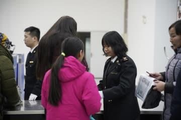 国境の安全を守る満洲里税関 内モンゴル自治区満洲里