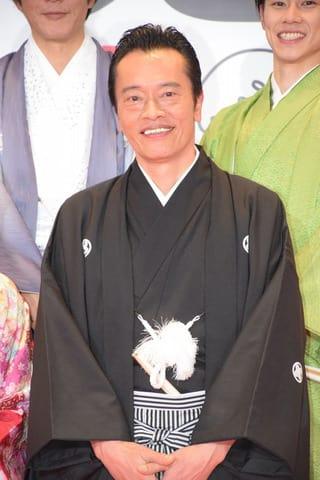 ドラマ「私のおじさん~WATAOJI~」の会見に出席した俳優の遠藤憲一さん