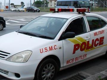 米軍のパトカー(資料写真)