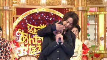 特別番組「さんま・玉緒のお年玉 あんたの夢をかなえたろかスペシャル」の場面写真 =TBS提供