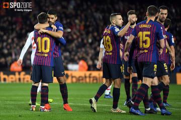 エース二人によるゴールショーとなったバルセロナ
