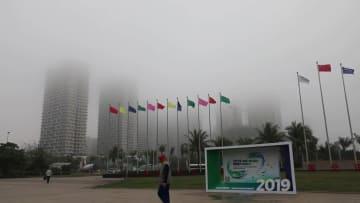 国際新エネルギー車展開幕 海南省海口市
