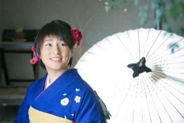 成人式を迎えた京都フローラ・星川あかり【写真提供:日本女子プロ野球リーグ】