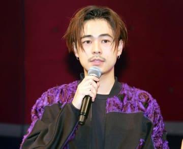 映画「チワワちゃん」の公開直前イベントに登場した成田凌さん