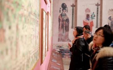 河北博物院で敦煌のデジタル化展覧会始まる