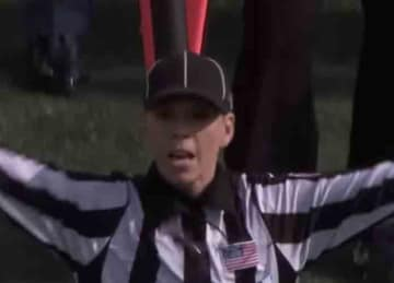 Sarah Thomas makes history as first female NFL official in playoff game