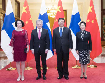 習近平主席、フィンランド大統領と会談 「一帯一路」協力の深化で一致