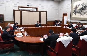 李克強総理、国務院党組会議を招集、主宰