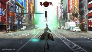 『D×2 真・女神転生リベレーション』×『ベヨネッタ』コラボ開催決定!天使や悪魔狩りは魔女の得意分野