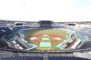 改修中のZOZOマリンスタジアムの様子【写真提供:千葉ロッテマリーンズ】