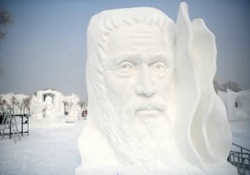第24回中国·ハルビン国際雪像彫刻コンテスト閉幕 黒竜江省ハルビン市