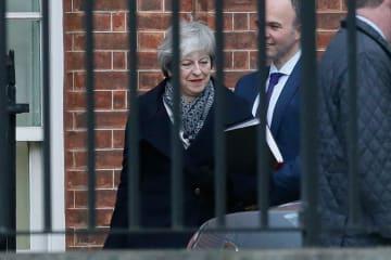 英首相、下院にEU離脱合意案への支持呼びかけ 15日採決