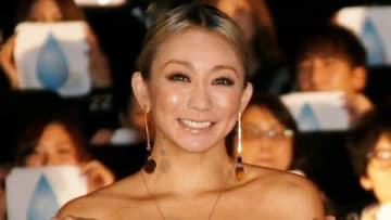 映画「アリー/スター誕生」のイベントにゲスト出演した倖田來未さん