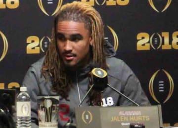 Alabama QB Jalen Hurts considering transfer