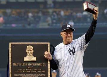 Yankees legend Mel Stottlemyre dies at 77