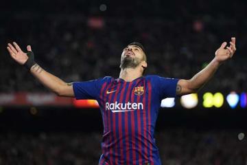 バルセロナのスアレス  photo/Getty Images
