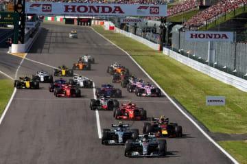 2019年F1全21戦の詳細スケジュールが発表。日本GP決勝は14時10分スタート