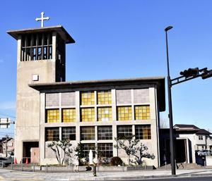 いわき・小名浜教会聖堂に感謝 老朽化で閉堂、別れ惜しむ