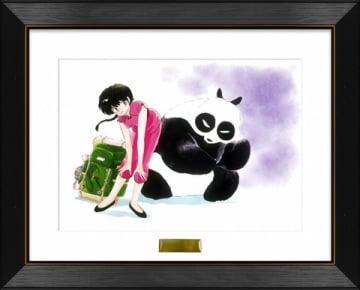 「少年サンデープレミアムSHOP」で販売される「らんま1/2」の複製原画=小学館提供