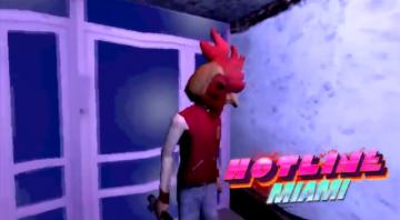もし『Hotline Miami』が初代PSのゲームだったら…?ゲーム開発者がユニークなファン映像公開