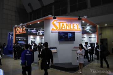 スタンレー電気ブース(オートモーティブワールド2019)