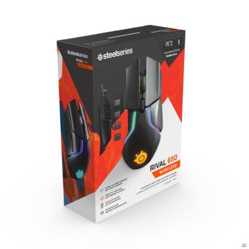 低遅延と安定した無線接続を実現したワイヤレスゲーミングマウス「Rival 650 Wireless」が1月31日に発売!