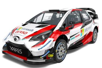 TOYOTA GAZOO Racing World Rally Team オートスポーツ・インターナショナルで、2019年シーズン参戦体制を発表