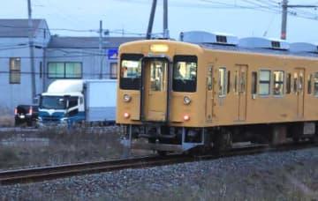 JR宇部線を走る電車