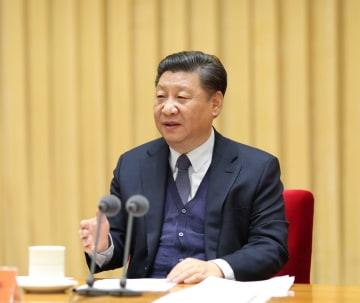 習近平氏、中央政法工作会議に出席 人民生活の安定保障を強調