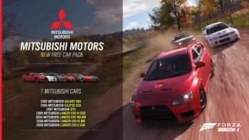 『Forza Horizon 4』今作から未収録となっていた三菱車がアップデートで復活!