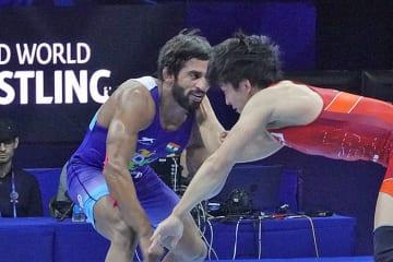 東京オリンピックでは、日本選手の金メダル獲得のライバルとなるであろうプニア・バジラン=2018年世界選手権