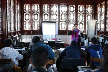 マルタ中国語学校、中国古典庭園「静園」内に誕生