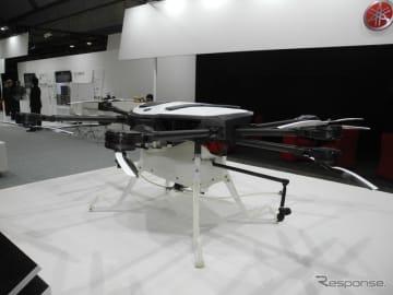 ヤマハ発動機の産業用ドローン「YMR-08」