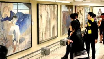 日本画の多彩な表現が来場者を引きつける「再興第103回院展」