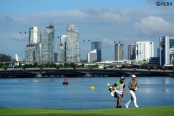 石川遼は今年もシンガポールでシーズンを開幕!(撮影:村上航)