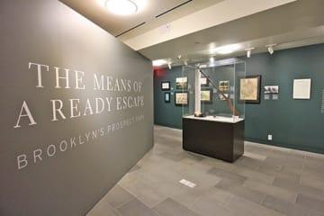 常設展のほか、期間限定でさまざまな企画展も開催されている。写真は、2017年に行われた「プロスペクトパーク展」