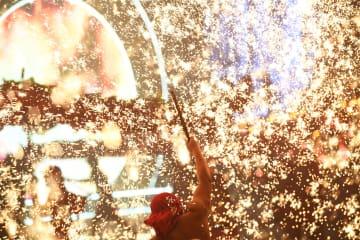 中華竜灯芸術祭が開催 重慶市銅梁区