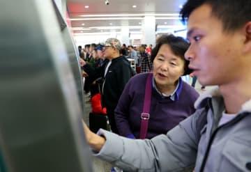 インターネットによる乗車券販売の効率を向上 広州駅