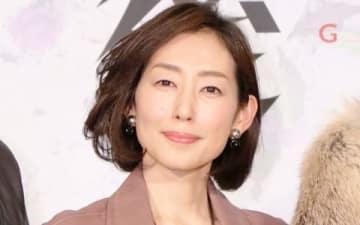 連続ドラマ「後妻業」の制作会見に登場した木村多江さん