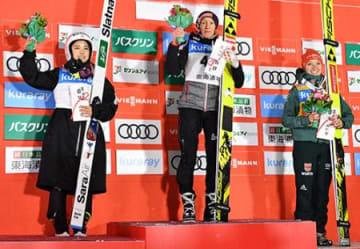 高梨が今季最高タイの2位 蔵王・W杯ジャンプ大会