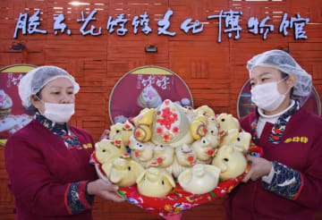 民間の小麦粉食品文化を継承 膠東花餑餑文化博物館が一般公開