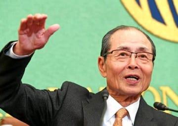 ソフトB王会長「平成」語り尽くす 日本記者クラブで会見