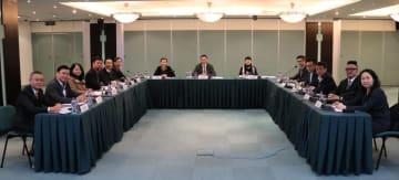 マカオ政府コンベンション・エキジビション・ディベロップメント委員が2019年第1回通常ミーティングを開催=2019年1月16日(写真:マカオ政府貿易投資促進局)